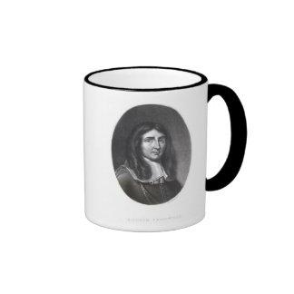 Portrait of Richard Cromwell Ringer Coffee Mug