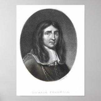Portrait of Richard Cromwell Print