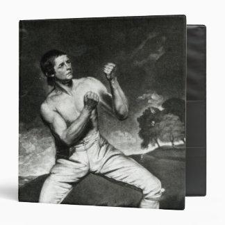 Portrait of Richard Humphreys 3 Ring Binder