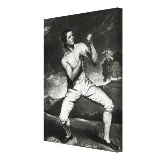 Portrait of Richard Humphreys Canvas Print