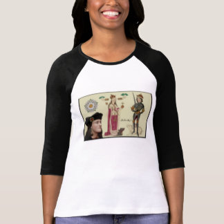 Portrait of Richard III, his family in background. T-Shirt