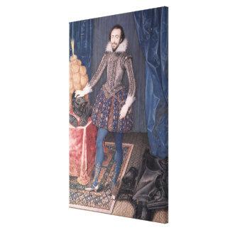 Portrait of Richard Sackville, 3rd Earl of Canvas Print