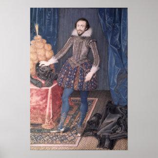 Portrait of Richard Sackville, 3rd Earl of Poster