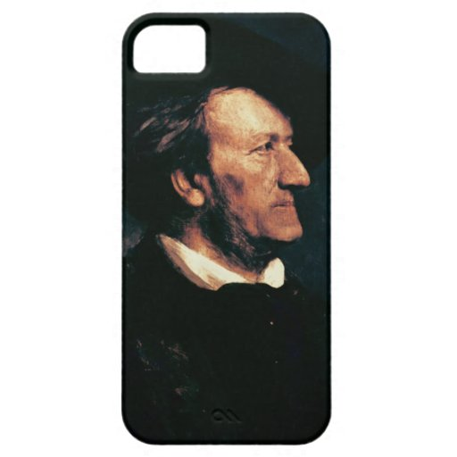 Portrait of Richard Wagner (1813-83) (oil on canva iPhone 5 Case