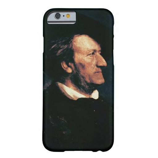 Portrait of Richard Wagner (1813-83) (oil on canva iPhone 6 Case