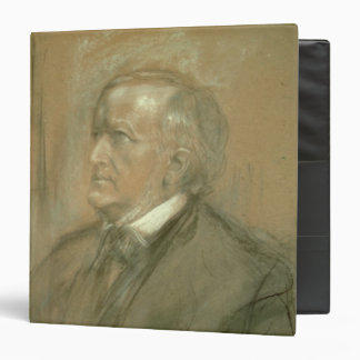 Portrait of Richard Wagner  1868 3 Ring Binder