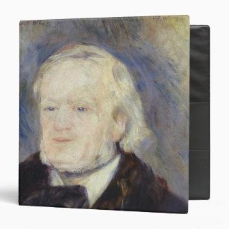 Portrait of Richard Wagner  1882 Vinyl Binder