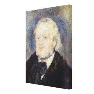 Portrait of Richard Wagner  1882 Canvas Print