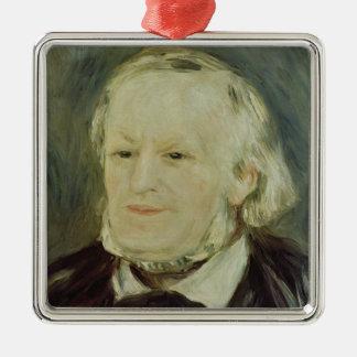 Portrait of Richard Wagner , 1893 Metal Ornament