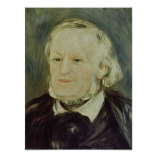 Portrait of Richard Wagner 1893 Print