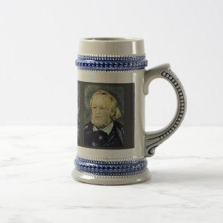 Portrait Of Richard Wagner By Pierre-Auguste Beer Stein