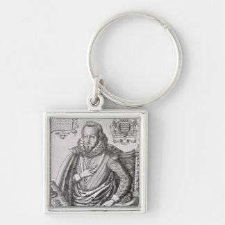 Portrait of Robert Cecil (1563-1612) 1st Earl of S Key Chains