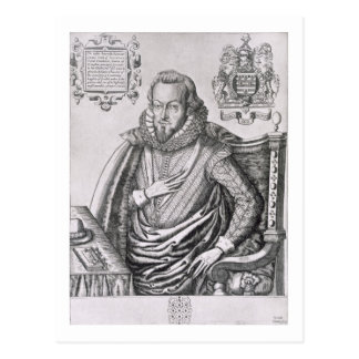 Portrait of Robert Cecil (1563-1612) 1st Earl of S Postcard