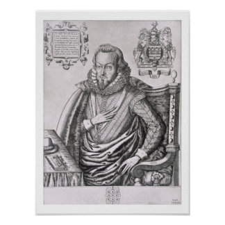 Portrait of Robert Cecil (1563-1612) 1st Earl of S Poster