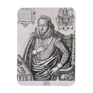 Portrait of Robert Cecil (1563-1612) 1st Earl of S Rectangular Magnets