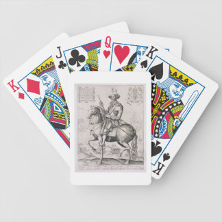 Portrait of Robert Devereux (1566-1601) 2nd Earl o Bicycle Playing Cards
