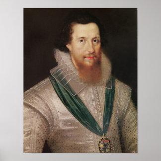 Portrait of Robert Devereux  c.1596 Poster