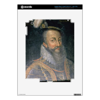 Portrait of Robert Dudley (1532-88) Earl of Leices iPad 3 Decal