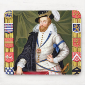 Portrait of Robert Dudley (c.1532-88) Earl of Leic Mouse Pad