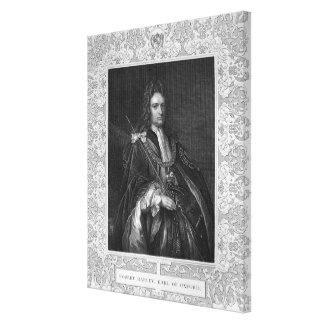 Portrait of Robert Harley, Earl of Oxford Canvas Print