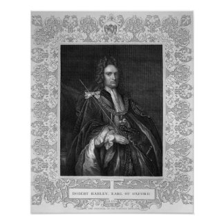 Portrait of Robert Harley, Earl of Oxford Poster