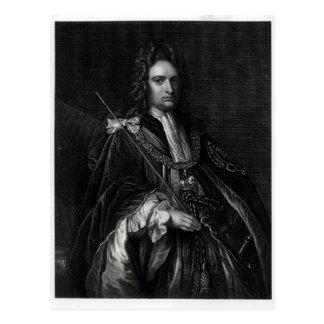 Portrait of Robert Harley Postcard
