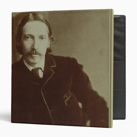 Portrait of Robert Louis Balfour Stevenson (1850-9 3 Ring Binder