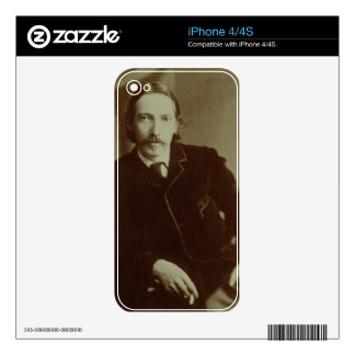 Portrait of Robert Louis Balfour Stevenson (1850-9 Decals For The iPhone 4S