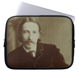 Portrait of Robert Louis Balfour Stevenson (1850-9 Laptop Sleeve