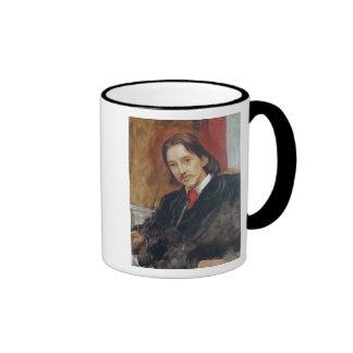 Portrait of Robert Louis Stevenson  1886 Ringer Coffee Mug
