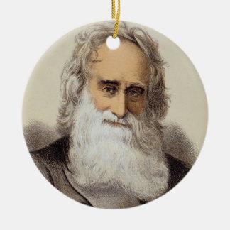 Portrait of Robert Moffat (1795-1883) (colour lith Ceramic Ornament