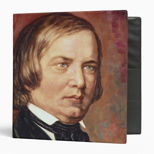 Portrait of Robert Schumann Binder