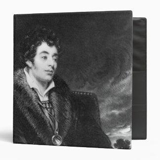 Portrait of Robert Southey 3 Ring Binder