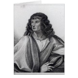 Portrait of Robert Spencer 2nd Earl Sunderland Card