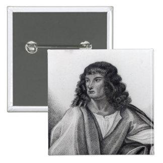 Portrait of Robert Spencer 2nd Earl Sunderland Pinback Button