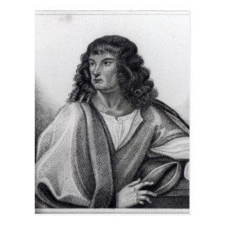 Portrait of Robert Spencer 2nd Earl Sunderland Postcard