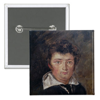 Portrait of Robert Surcouf  1796 Button