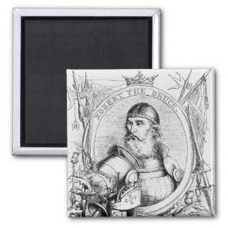 Portrait of Robert the Bruce Magnet