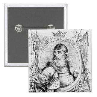 Portrait of Robert the Bruce Pinback Button