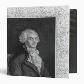 Portrait of Robespierre Binder