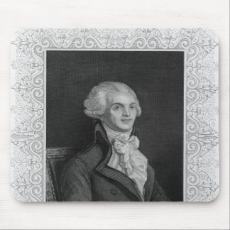 Portrait of Robespierre Mouse Pad