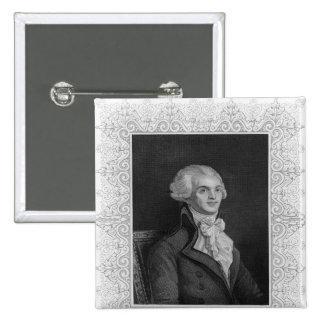Portrait of Robespierre Pinback Button