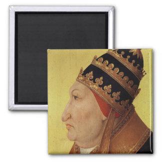 Portrait of Rodrigo Borgia  Pope Alexander VI Magnets