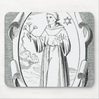 Portrait of Roger Bacon Mouse Pad