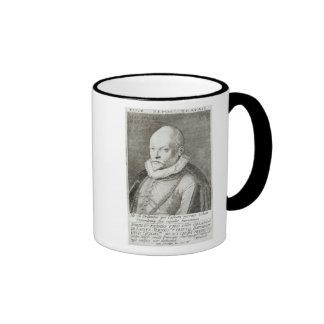 Portrait of Roland de Lassus  1593-94 Ringer Mug