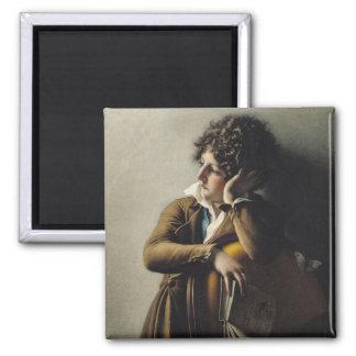 Portrait of Romainville-Trioson, 1800 Refrigerator Magnets