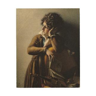 Portrait of Romainville-Trioson, 1800 Wood Prints