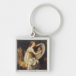 Portrait of Rose Adelaide Ducreux Keychain