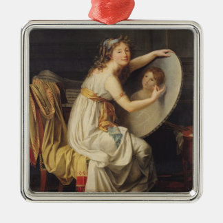Portrait of Rose Adelaide Ducreux Christmas Tree Ornament