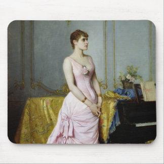 Portrait of Rose Caron  1886 Mouse Pad